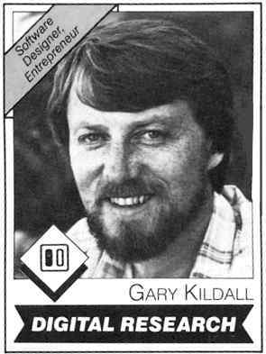 a biography of gary kildall and the history of control programmicrocomputers operating system